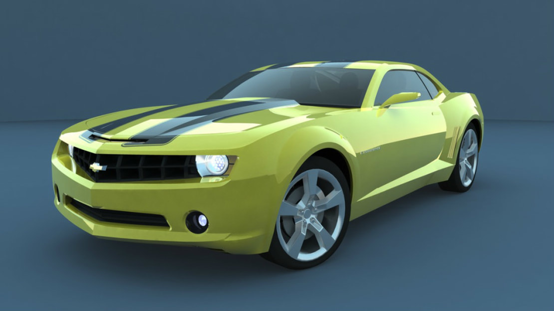 NURBS Car Project - 2012